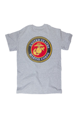 U.S. MARINES Seal T-Shirt - Annapolis Gear