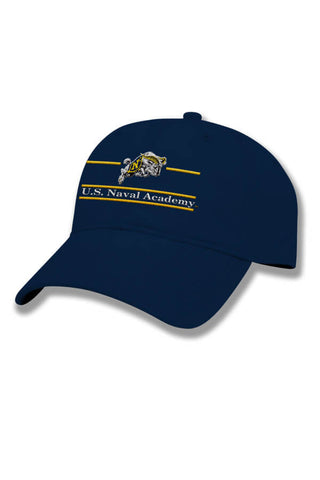 USNA Charging Goat Hat (navy) - Annapolis Gear