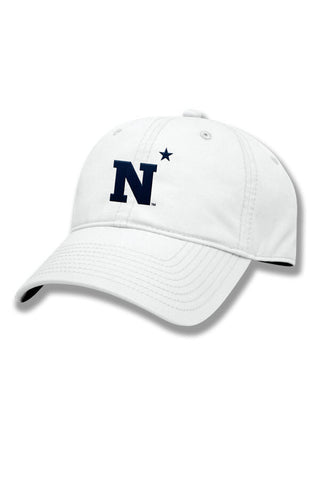 USNA N-Star Hat (white) - Annapolis Gear