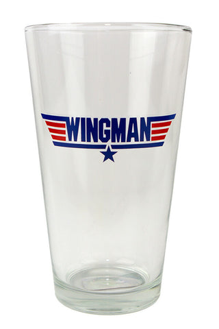 TOP GUN Wingman Pint Glass - Annapolis Gear