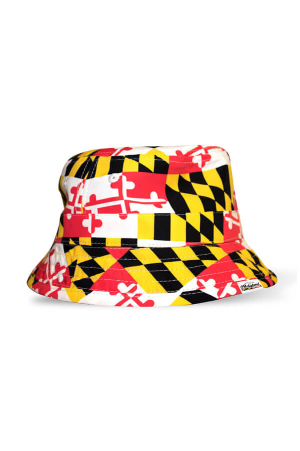 MD Pride MD Flag Bucket Hat - Annapolis Gear
