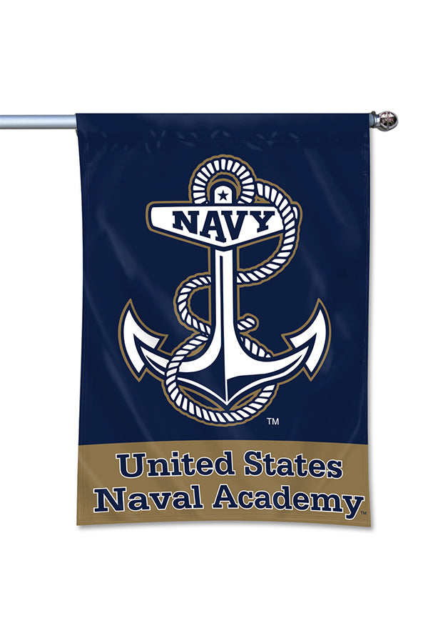 "UNITED STATES NAVAL ACADEMY ANCHOR Home Banner (40""x27"")"