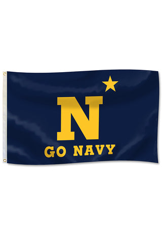 GO NAVY N* Flag (3'x 5')