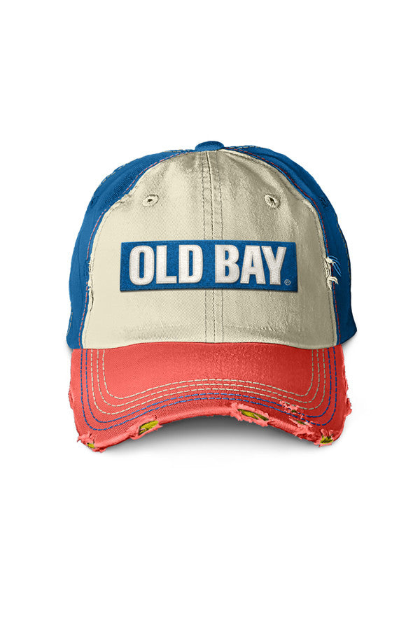 OLD BAY® Distressed Hat - Annapolis Gear