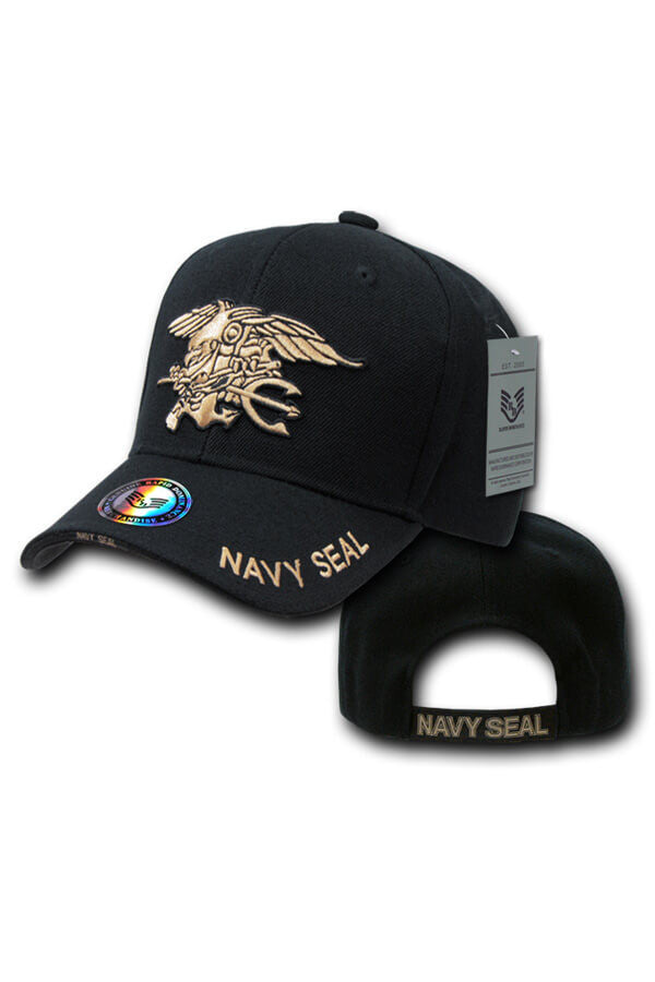 NAVY SEALS Hat (black) - Annapolis Gear