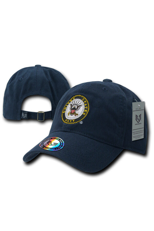 "NAVY ""The Lieutenant"" Navy Seal Hat (navy) - Annapolis Gear"