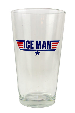 TOP GUN Ice Man Pint Glass - Annapolis Gear