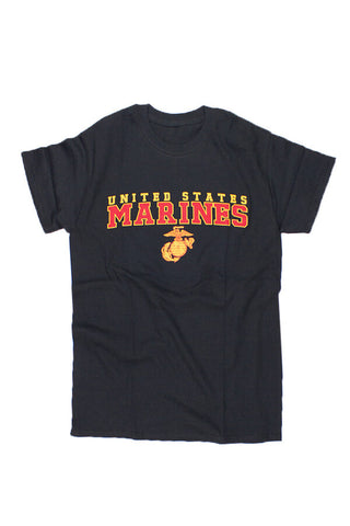 U.S. MARINES G & A T-Shirt (black) - Annapolis Gear