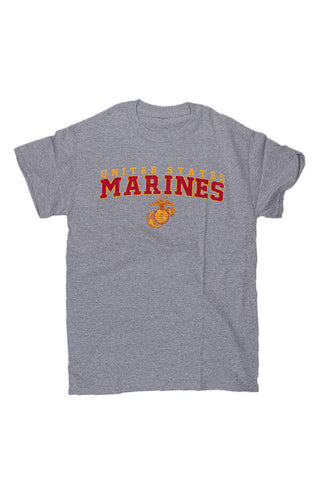 U.S. MARINES G & A T-Shirt (grey) - Annapolis Gear