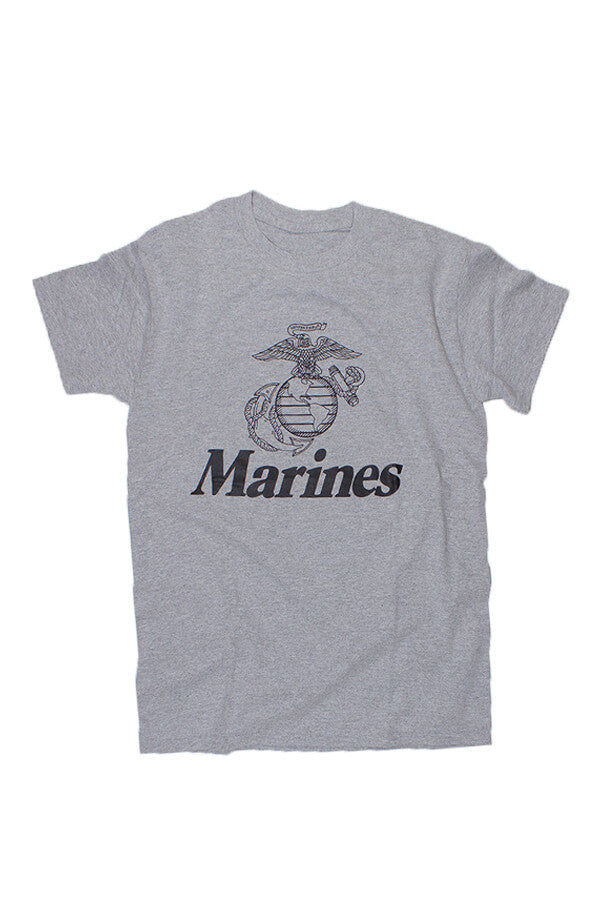 U.S. MARINES Globe & Anchor T-Shirt (grey) - Annapolis Gear