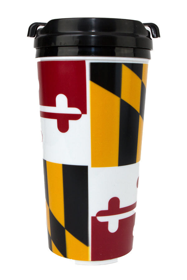 MD Flag Full Wrap Tumbler - Annapolis Gear
