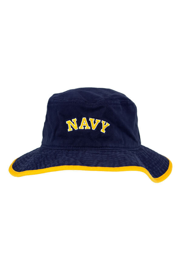 NAVY Arch Bucket Hat (navy) - Annapolis Gear