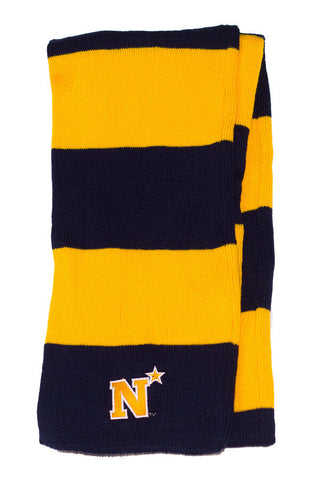 USNA N-Star Rugby Style Scarf - Annapolis Gear