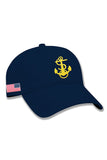 NAVY Anchor Hat (navy)