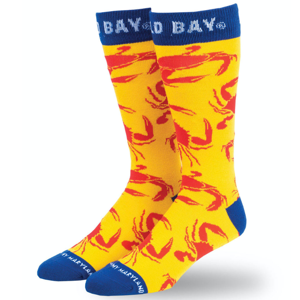 OLD BAY® Crab Crawl Dress Socks