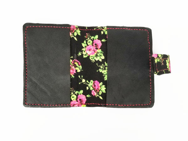 Black and floral Personal Wide