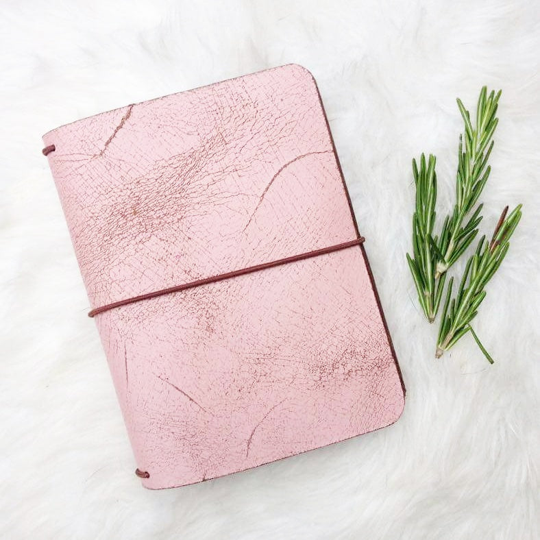 Rustic Pink passport size
