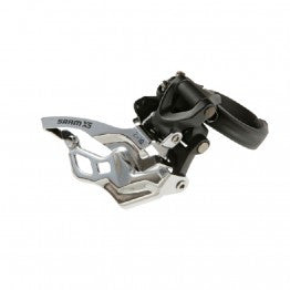 SRAM X5 Front Derailleur - 3x10 Low Clamp 31.8/34.9 Balck Dual Pull