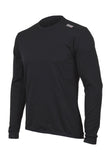 Lusso SilverPlus Long Sleeve T-Shirt – Black