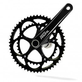 SRAM Rival Chainset OCT Mirror Black 175mm 53-39t Inc GXP BB