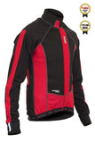 Lusso Windtex Aero+ Thermal Jacket – Black/Red