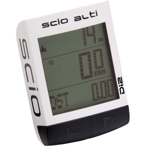 PRO SCIO Alti ANT wireless cycle computer, white