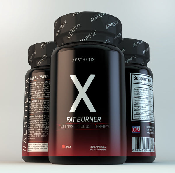 AESTHETIX • X • Fat Burner for Man & Woman - AESTHETIX