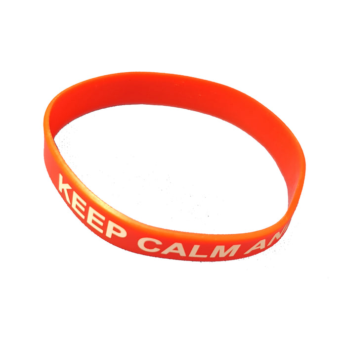 Keep Calm Wrist Bands