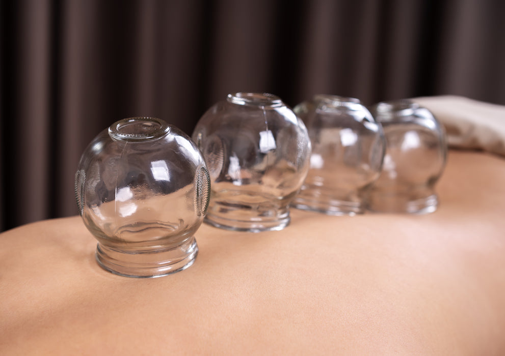 Crystal Clear Glass Cups for Fire Cupping