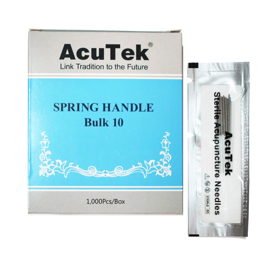 AcuTek Spring Ten Painless Needles