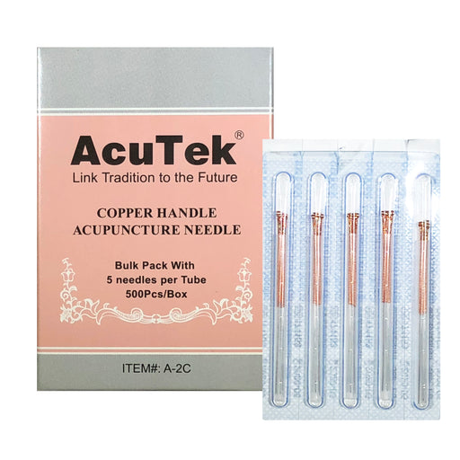AcuTek Copper Handle Needle Bulk Pack
