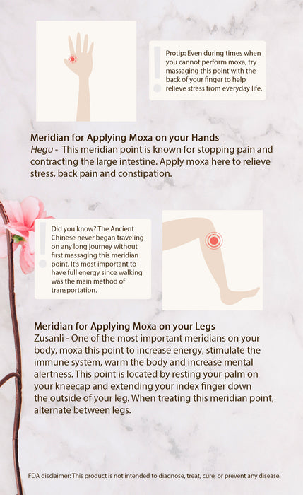 Pure Moxa Candles for Indirect Moxibustion