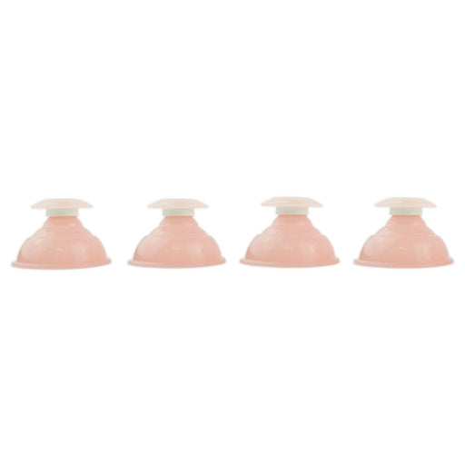 Pink Silicone Cupping Set - UPC Medical Supplies, Inc.