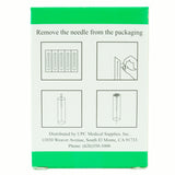 Kingli Acupuncture Needles Single Pack