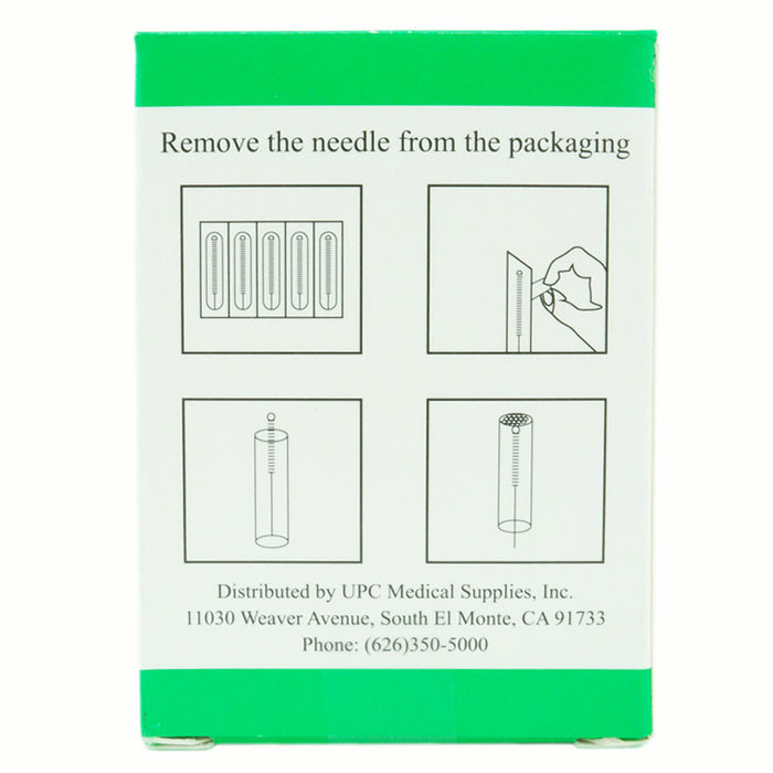 Kingli Acupuncture Needle Single Pack Details