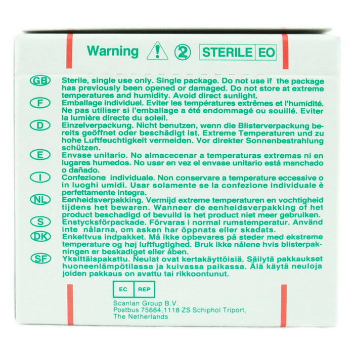 SEIRIN J-Type Acupuncture Needles Single Pack