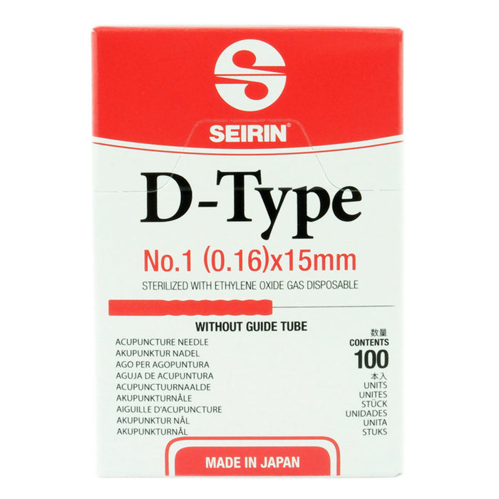 SEIRIN D-Type - Acupuncture Needles