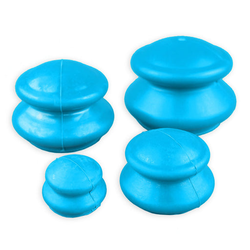 Finnish Style Rubber Cupping Set