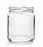 Glass Dressing Jar with Aluminum Cover