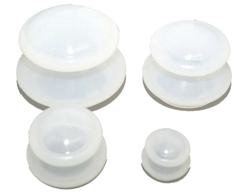 Clear Silicone Cupping Set
