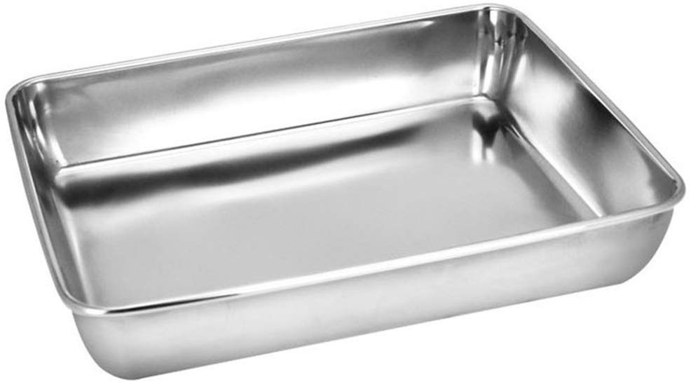 Brushed Stainless Steel Instrument Tray