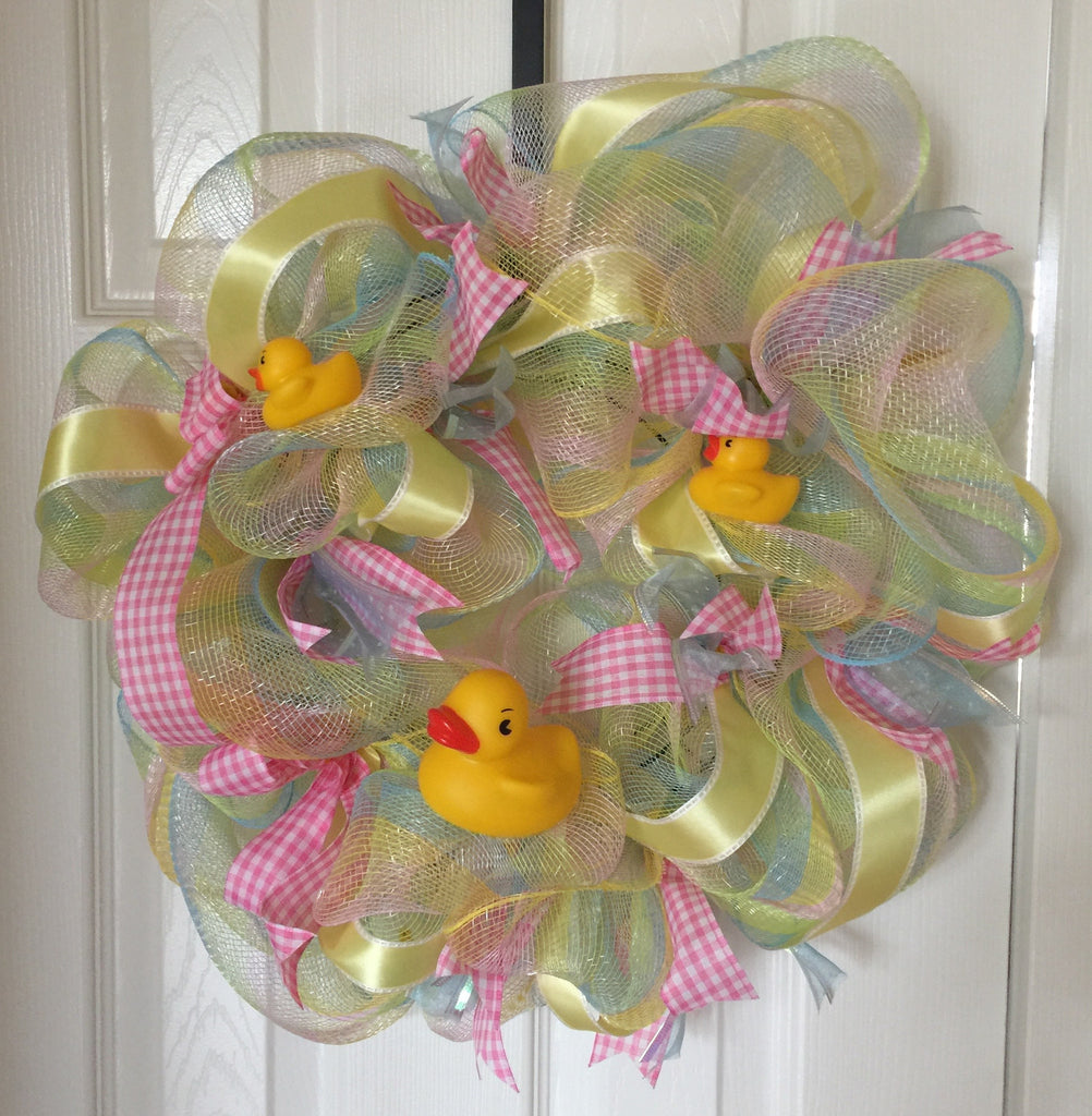Bath Time Wreath