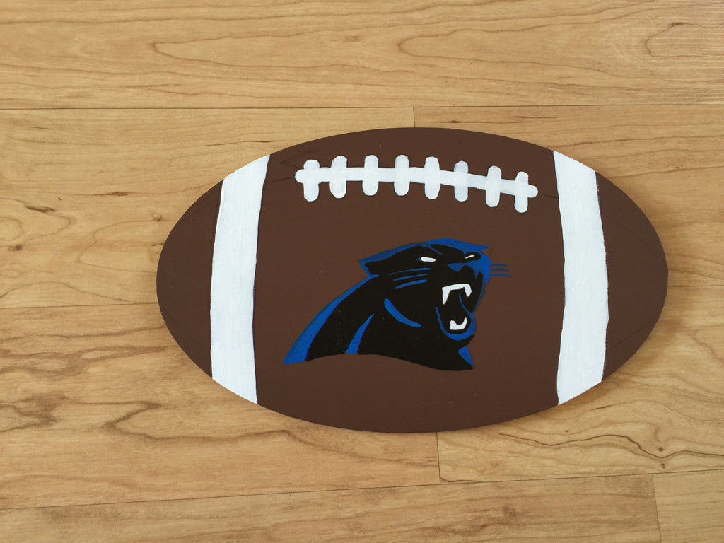 Carolina Panthers Football sign