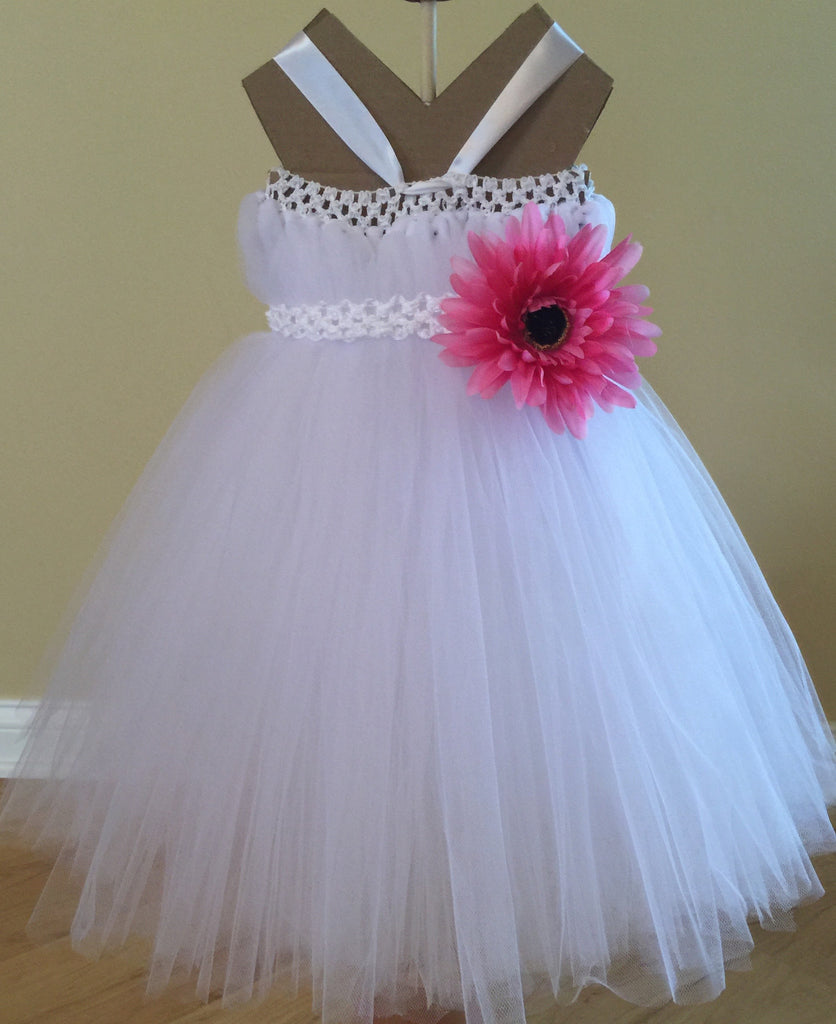 White Princess Tutu Dress