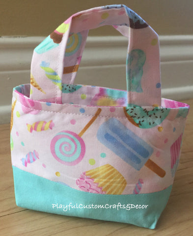 Lt. Green Sweets Tiny Tote