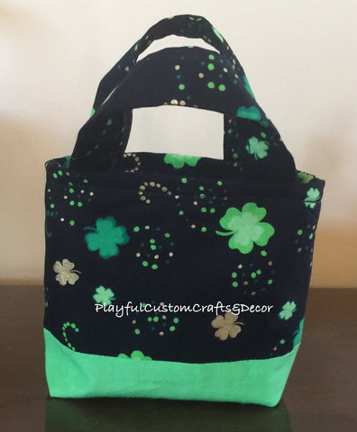 St. Patrick's Day Tiny Tote