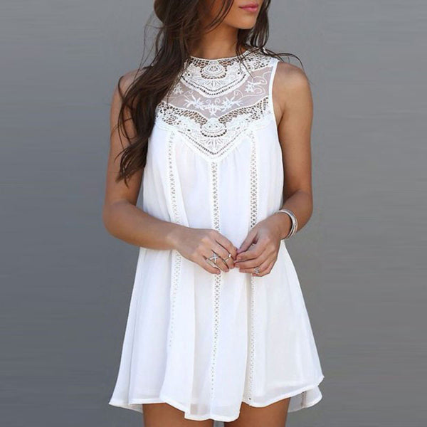 Casual Lace Sundress