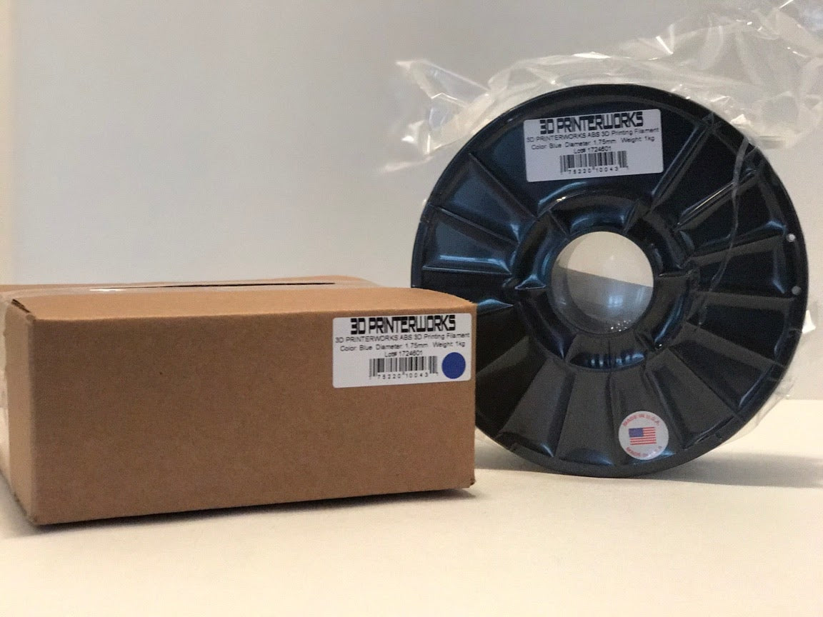 Blue ABS Engineered printing filament