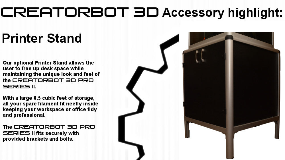 CreatorBot 3d Pro Series II Stand
