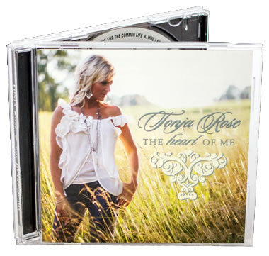 CD in Jewel Case - 3 Page Insert